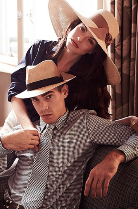 Spring/Summer 2013 Ad Campaign for Lock & Co Hatters Styling Salim Ahmed-Kashmirwala