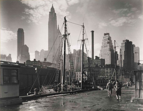 Vintage New York, 1935, Bernice Abbott