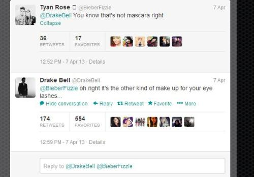 deathstarinmordor:   allonsyforever:  My love for Drake Bell is eternal  omg im dying