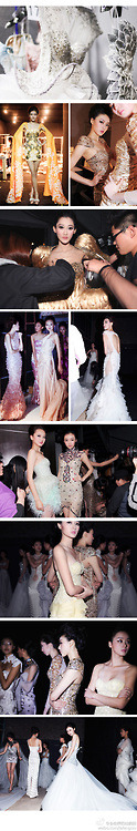 backstage -  zhang jingjing haute couture 2013 spring summer  (Photographer:会拍照的拉疯妞)