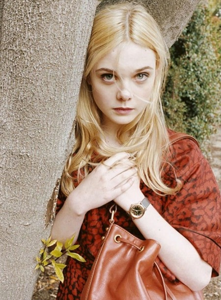 Elle Fanning for Marc by Marc Jacobs