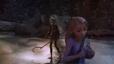 choose your path  Rapunzel finds out she's the lost princess and though she should be struck with happiness, she is confused and lost at the prospect. She now has a companion who has shown her the world, Jack Frost, and knows that the spirited boy cannot follow her to the new world she's uncovered. He would remain unseen, unheard, invisible to not only her parents, but her loyal subjects as well. Revealing such a jarring secret can be daunting on its own, but how can she choose between her friend and destiny?  [[ A quick little Jackunzel edit for you guys. I think the story is more interesting than the picture, IMO. But guyz, I learned how to cut out peoples without erasing the edges and lol nao i'm a real graphix artist. Been busy, as you all know, so hopefully this makes up for the lack of actual roleplay~ ]]