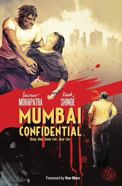 "fanboycomicsnet:  ""Mumbai Confidential Book 1: Good Cop, Bad Cop"" - Graphic Novel Review by FBC's Sam Rhodes!  I'm not a noir expert, but I've seen the classics: Chinatown, The Maltese Falcon, Touch of Evil, Out of the Past.  You get the idea.  I love this genre, I love the thrills, I love the characters, the twists, the violence, and treachery.  It's a genre where nothing means what you think it means, and everyone has a secret, a dark past, and ulterior motives. It's a genre with a deep and ongoing history, and Archaia's new hardcover graphic novel, Mumbai Confidential, from writer Saurav Mohapatra and artist Vivek Shinde is an inky, burning fuse of a story that deserves a place alongside the classics.  5 Femme Fatales out of 5! Click here for the fuill review!"