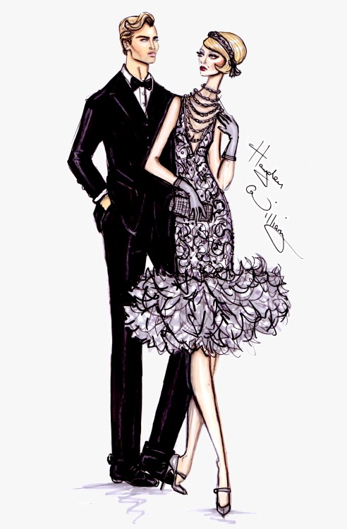 haydenwilliamsillustrations:  The Great Gatsby collection by Hayden Williams pt4