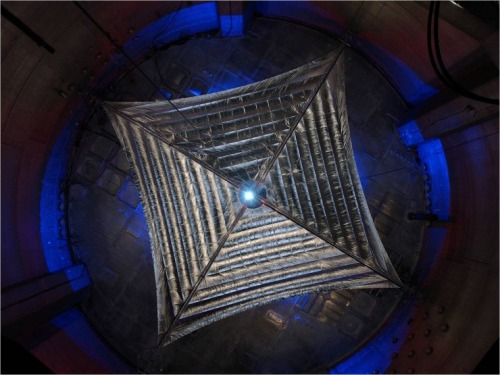 8bitfuture:  Largest ever solar sail could launch in 2014. NASA are preparing the final design for a massive 13,000 square foot solar sail, which could launch as early as next year. When collapsed, the sail is the size of a dishwasher and weighs just 70 pounds. Once in space the unit will unfurl and catch sunlight, or more importantly a combination of photons and solar gasses being ejected from the sun, which will very slowly act to speed up the sail and push it out to a point about 3,000,000 kilometres out from Earth.   Once proven, solar sail technology could enable a host of versatile space missions, including flying an advanced space-weather warning system to more quickly and accurately alert satellite operators and utilities on Earth of geomagnetic storms caused by coronal mass ejections from the sun. The technology also could provide an economical solution to removing some of the more than 8,000 pieces of orbital launch debris ringing the planet; conduct station-keeping operations, or hover at high latitudes above Earth for communications and observation; and could drive a variety of propellantless, deep-space exploration and supply ferrying missions.