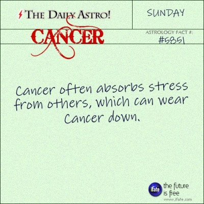 Cancer 5851: Visit The Daily Astro for more facts about Cancer.and u can get a free tarot reading here. :)