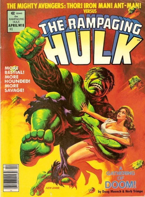 comicbookartwork:  THE RAMPAGING HULK A GATHERING OF DOOM!