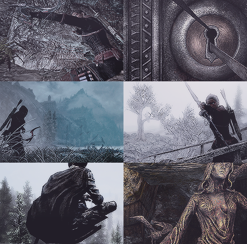 lonecourier:  30 Day Skyrim Challenge └ Day 2: Mage, Warrior, Rogue or mixed class?  rogue