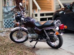 My newest project - 1982 Honda cm200t twinstar. Next project; more tower paintings
