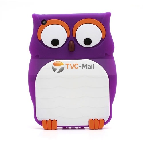 Novelty 3D Owl Soft Silicone Back Case for iPad Mini  $4.23 http://bit.ly/1awIxXN