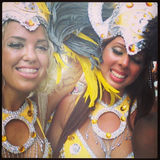 At one point I was in this pic lol. @pcreque @nicole_joie #parade #carnival  #stthomas #virginislands