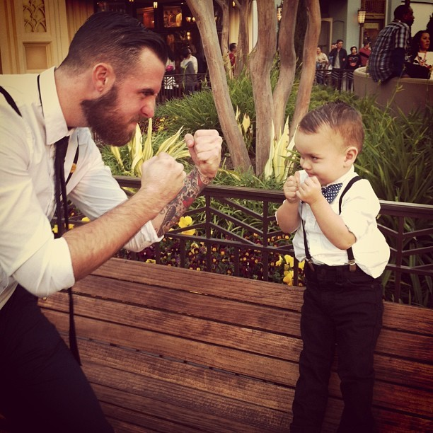 #dapperday #dapperday2013 #littlegoon  (at Disney California Adventure Park)