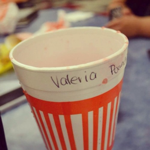 Whata…love. #love #whataburger #powerade #valeria