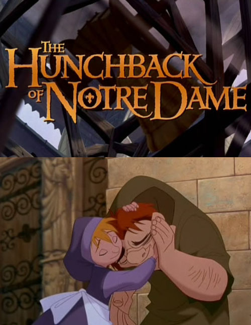 thefrogman:  Disney Endings Redux  Also Frollo tried to rape Esmerelda.