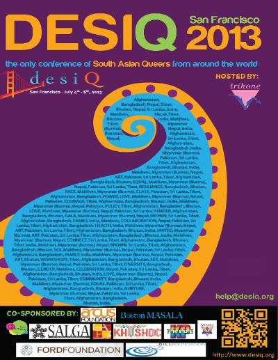 DesiQ Conference this July 4-6 in San Francsico. Image circa 2013.