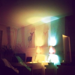 Blue times in my #apartment… ;) (at Henriettenplatz)