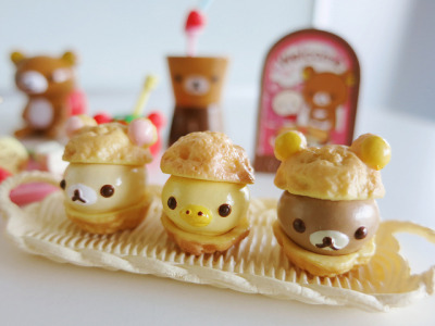 irresistableness:  Rilakkuma miniatures by Jen44 on Flickr.