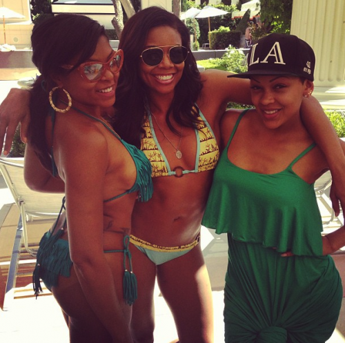 Taraji P. Henson and Gabrielle Union put my body to shame.  They're like 40 years old and I'm 23.  It doesn't help that I haven't been working out lately.