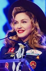 Thank you Madonna, for blessing us with your flawless presence this year.