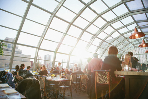 (Photo by Crystal Liepa of Heavytable.com)  Had lunch at Union Rooftop restaurant on Saturday with my spawn and a good friend. It was fucking gorgeous up there, with the tall buildings of downtown Minneapolis towering above us, and the sunshine was a welcome warmth on a cool windy day. The food was absolutely delicious too!  I would love to go back…maybe on a date night with the boyfriend to dine under the stars.