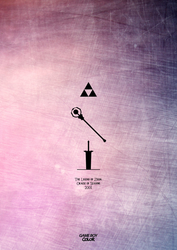 it8bit:  Legend of Zelda: 1986-2013 Created by Esteban Hidalgo  I want ALL of these!!