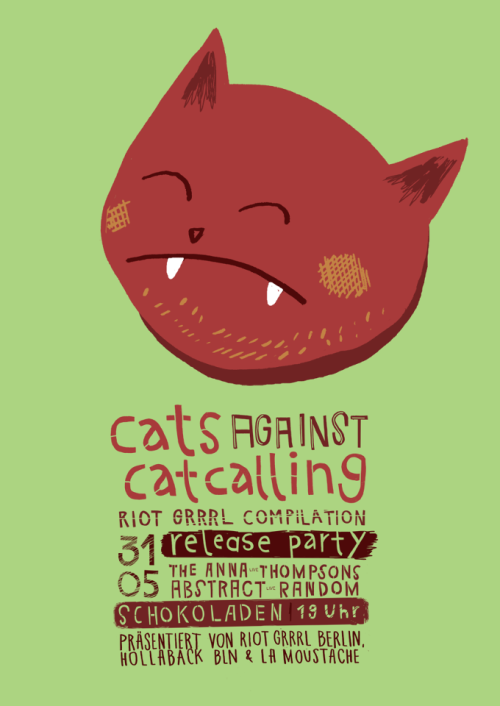 Cats against catcalling f/ Abstract Random.