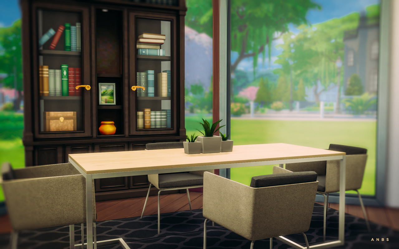 Nissa dining room objects 3 new meshes table anbs for Sims 3 dining room ideas