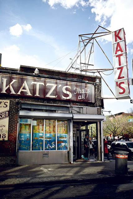 Katz's Delicatessen , New York