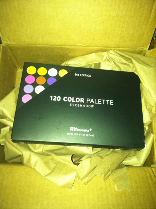 corettahunter:  I received my gift from BH Cosmetics thanks to @makeupbox. Can't wait to try it out.  Show us some swatches, Coretta! I haven't even seen this palette up-close myself!