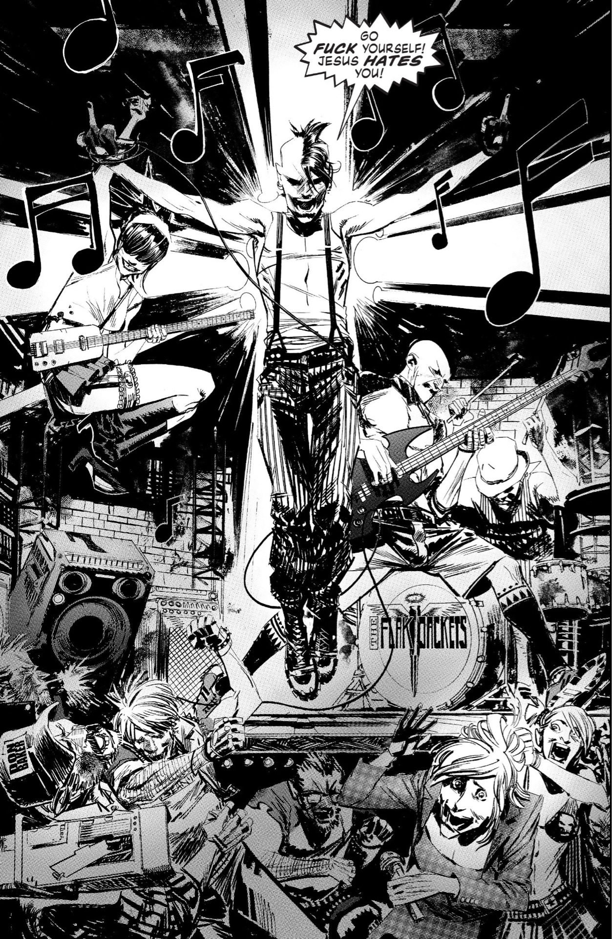 Punk Rock Jesus by Sean Murphy