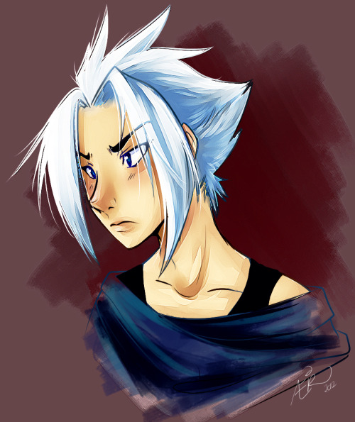 :Sit's bust:  This is my character Sitaára Saféd in his human form~I just wanted to draw something :D  hope you like it. I still have to improve my human drawing skills haha