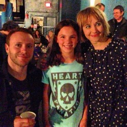 The Joy Formidable meet my daughter (er - or the other way around) at a sold-out 9:30 Club show on April 21st, 2013 in Washington, DC