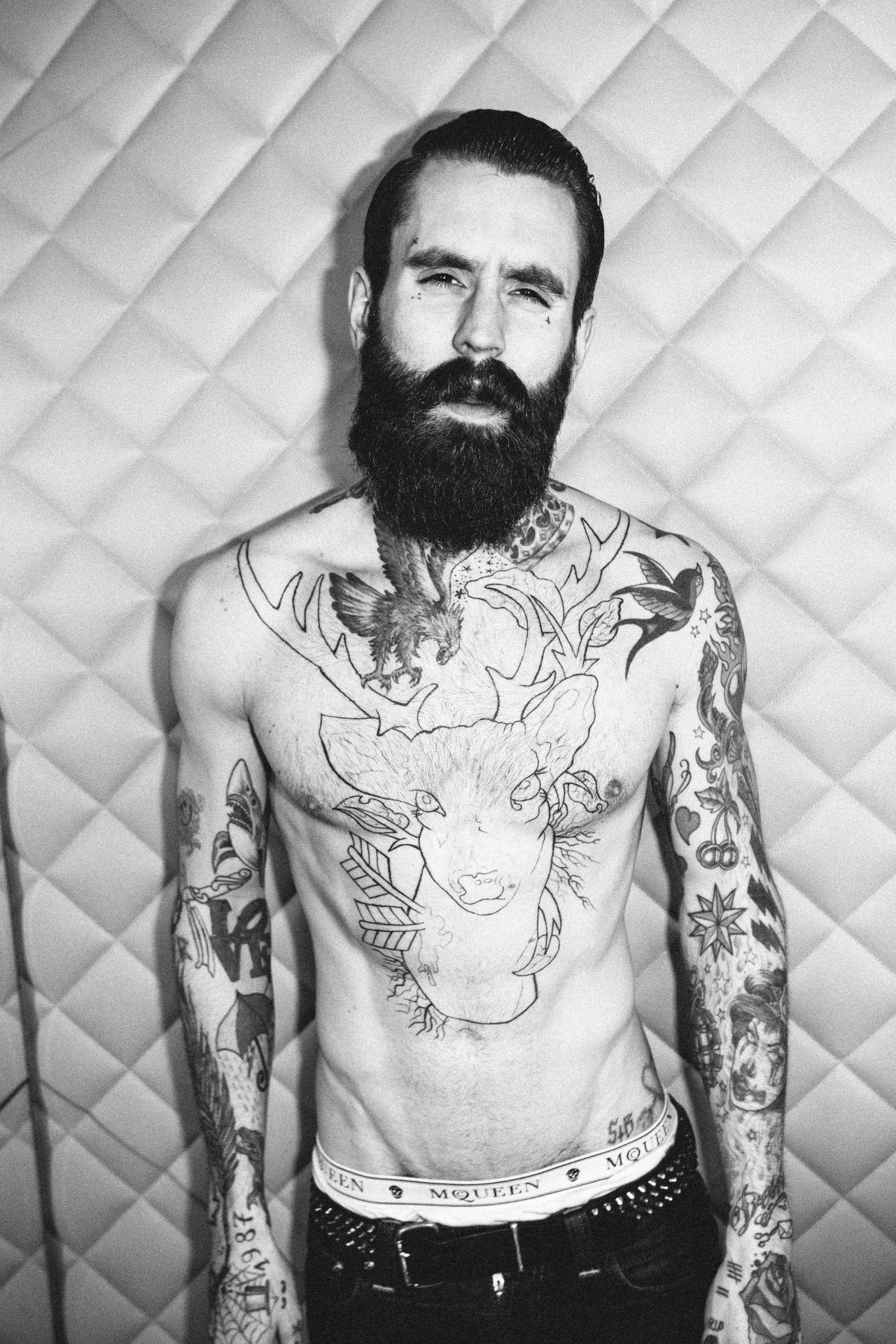 Ricki Hall in London (by Mike Lerner)