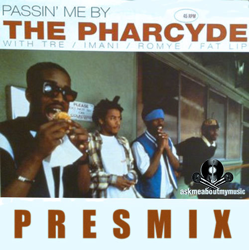 "Passin Me By-Pharcyde [PRESMIX]  askmeaboutmymusic is excited to bring you the brand new release from LA Producer/DJ group PRES… This time the duo come through with a mix of the classic Pharcyde track  ""Passin Me By"". The track comes on the heels to their Moombahton Bootleg of Dom Kennedy's original ""My Type Of Party"" (also available for Free Download on their Soundcloud page). Enjoy the track and be ready for more things to come very soon!! Twitter: @PresMusic Soundcloud: Official Pres Music Instagram: @OfficialPresMusic askmeaboutmymusic."