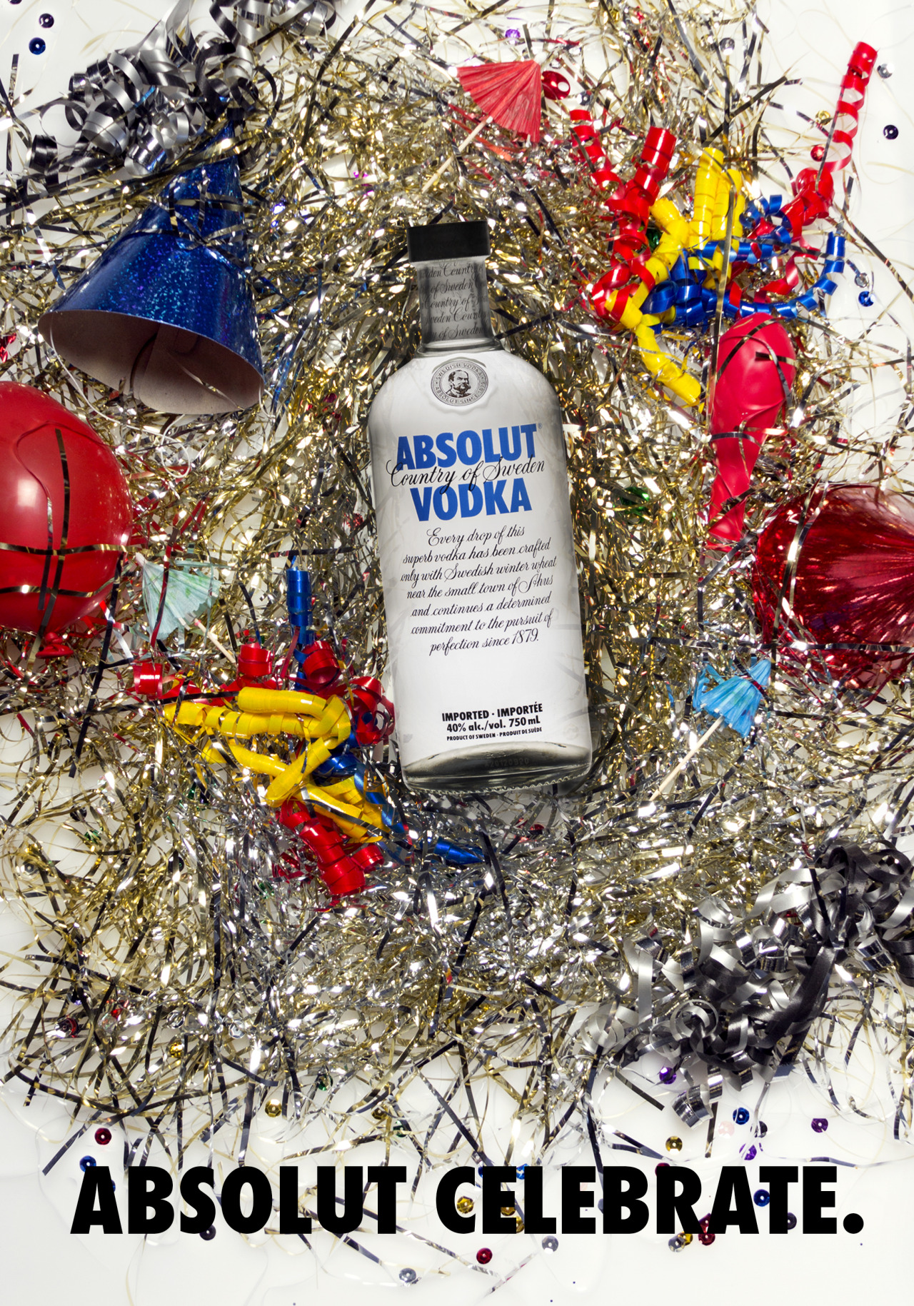 Absolut ad - school assignment