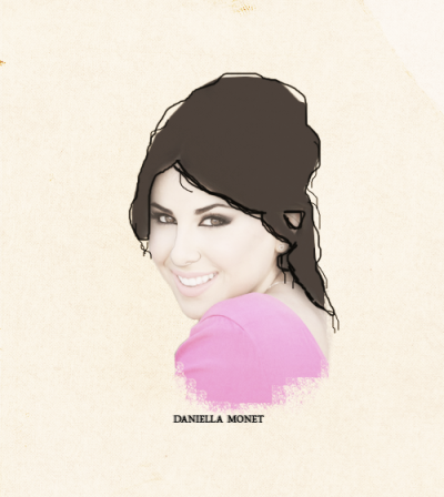 Celebrity alphabet▸daniella monet