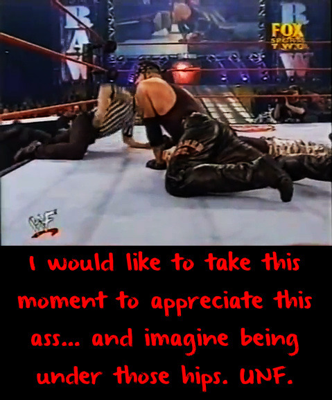 wwewrestlingsexconfessions:  I would like to take this moment to appreciate this ass… and imagine being under those hips. UNF.