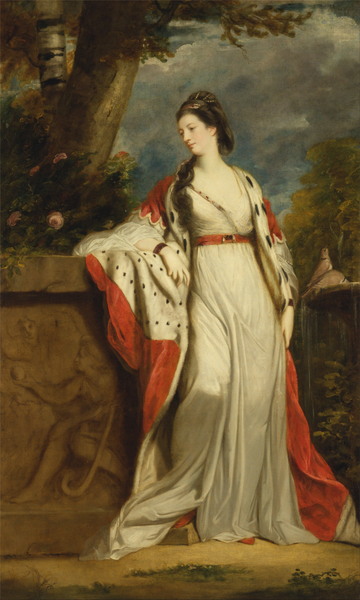 Elizabeth Gunning, Duchess of Hamilton and ArgyllSir Joshua ReynoldsOil on canvasc. 1760