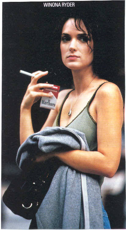 shopghost:  We want to take a smoke break with Winona.