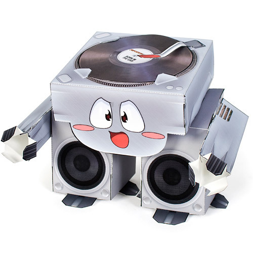 Turntable Papercraft