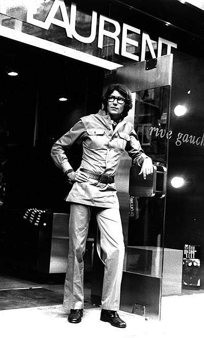 ♛Mr. YSL in Safari suit 1960s