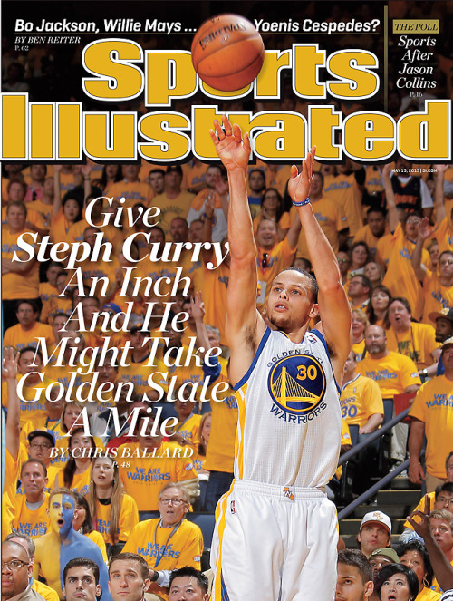officialwarriors:  Warriors Guard Stephen Curry Featured On Regional Cover Of Sports Illustrated