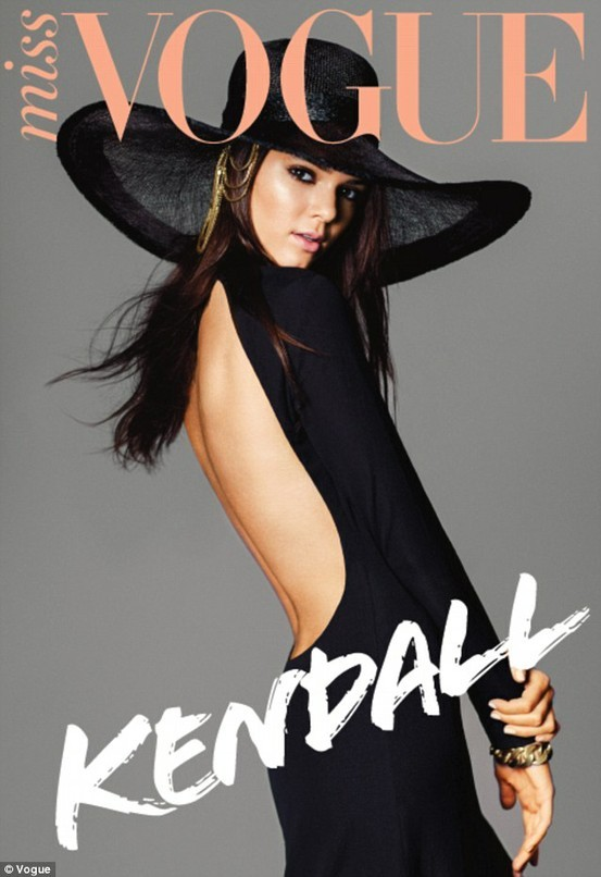 16-Year-Old Kendall Jenner (now 17) Covers Miss Vogue Australia! Initial Reaction: I think the cover's pretty amazing. Go, Kendall. Video: Behind the Scenes: Kendall Jenner for Miss Vogue