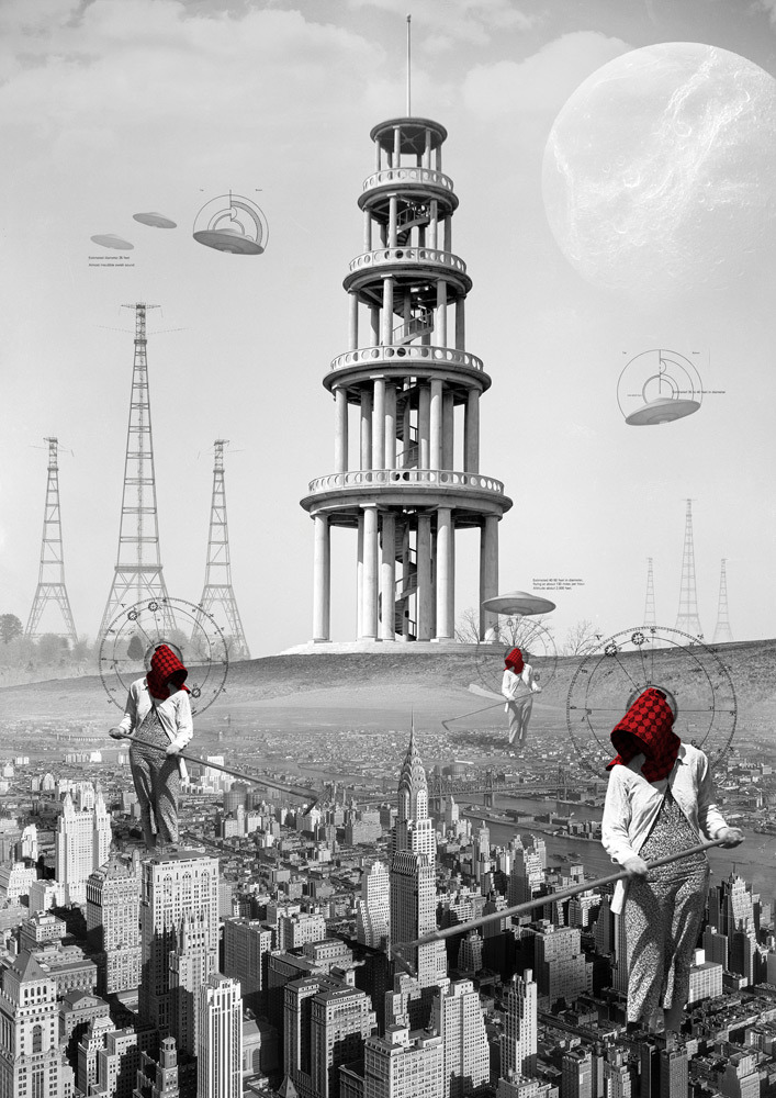 kacper-kiec:  Invasion of Red Harversters - digital collage