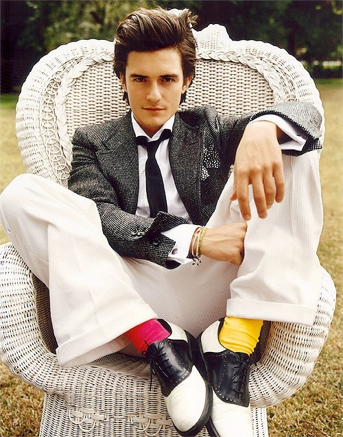 Orlando Bloom by Mario Testino for GQ
