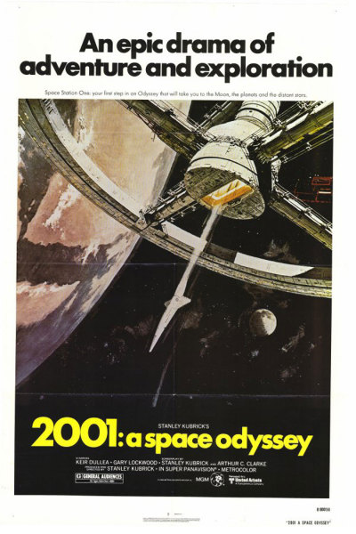 fuckyeahmovieposters:  2001: A Space Odyssey  2001 is my favorite movie, hell every one of my hard drives and servers is named after something in the movie. At some point I need to break down and purchase a framed poster.