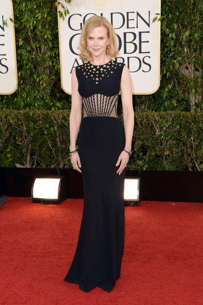 Golden Globes 2013 whatdidshewear:  Nicole Kidman Dress: Alexander McQueen