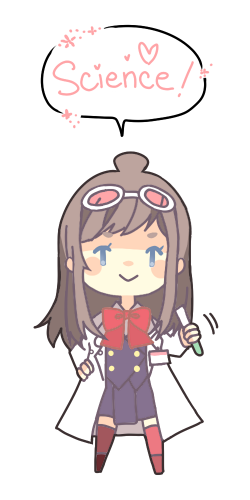 rie-doodles:  Ema Skye is my favourite character from the AA series ♥ (Transparent!!)