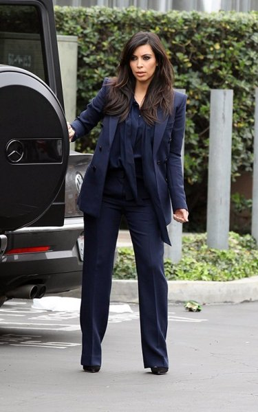 working mom…Kim Kardashianout in Beverly Hillson Tuesday…