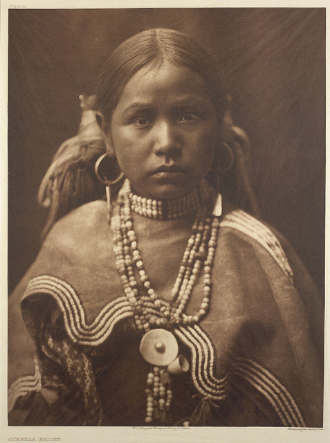 Jicarilla maiden by Smithsonian Institution on Flickr.